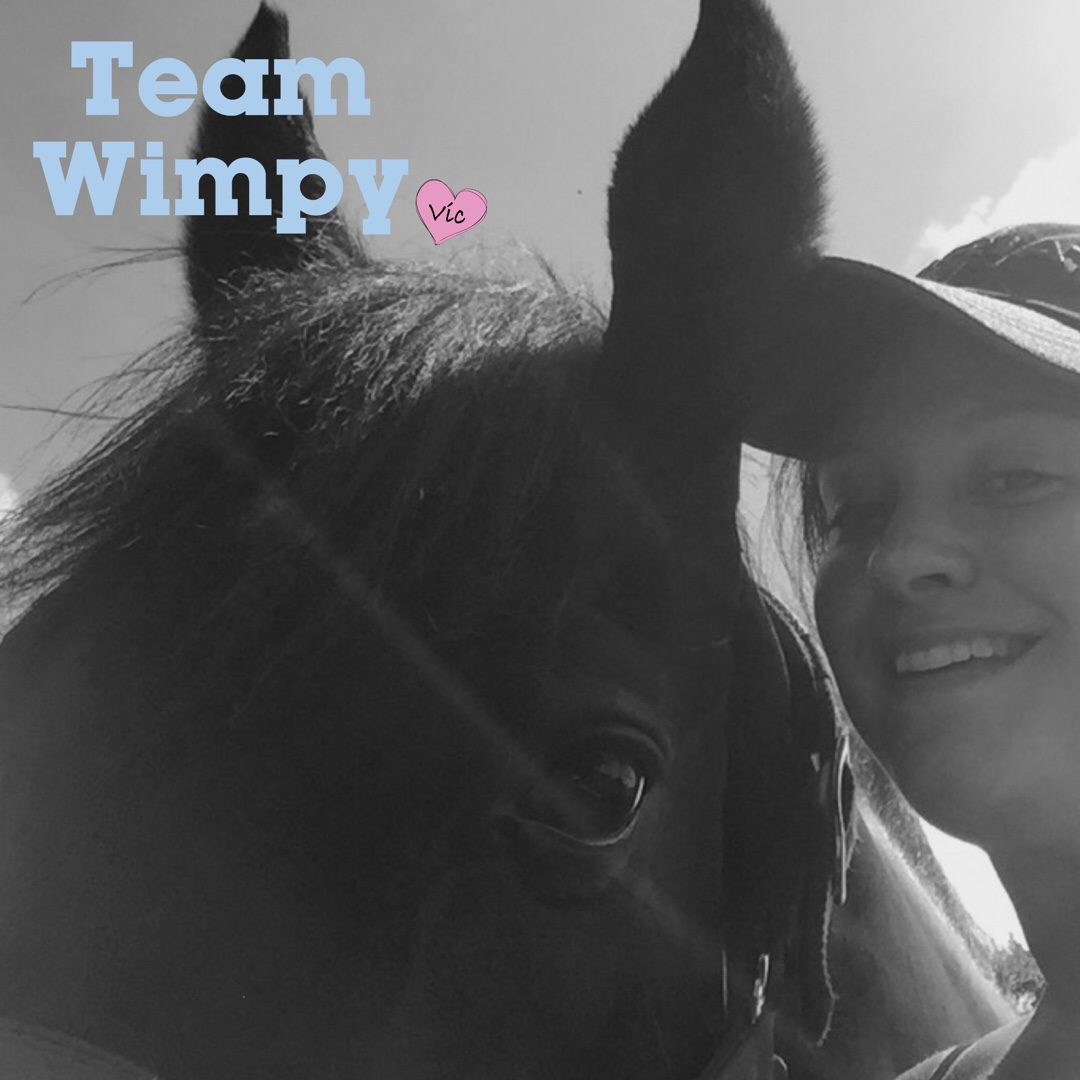 Team Wimpy Update 7: Learning to enjoy it by Amie and Raven post thumbnail image