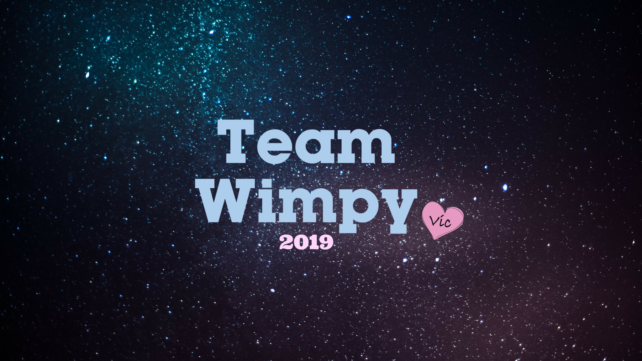 TEAM WIMPY 2019 : Happy New Year! post thumbnail image
